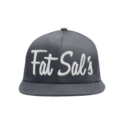 Fat Sal's Grey/White