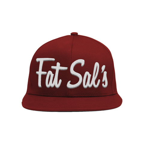 Fat Sal's Maroon/White