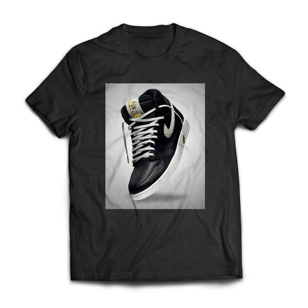 Fat Sal's X The Shoe Surgeon Black T-Shirt