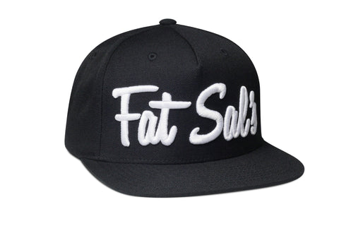 Fat Sal's x Hall of Fame Black/White Snapback