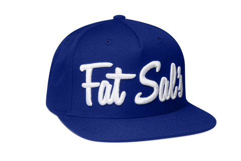 FAT SAL'S X HALL OF FAME Royal Blue/White