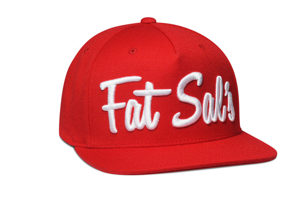 Fat Sal's x Hall of Fame Red/White Snapback