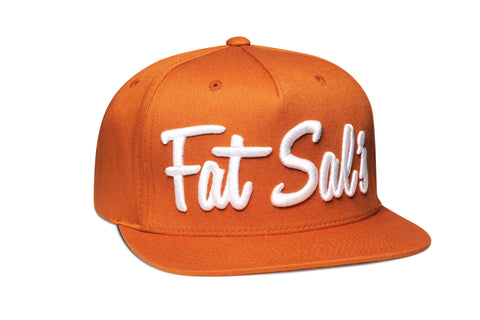Fat Sal's x Hall of Fame Burnt Orange/White Snapback