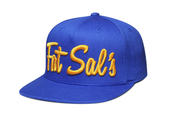 Fat Sal's x Hall of Fame True Blue / Gold Snapback