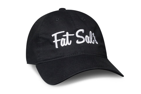 Fat Sal's Dad Hat - Black & White