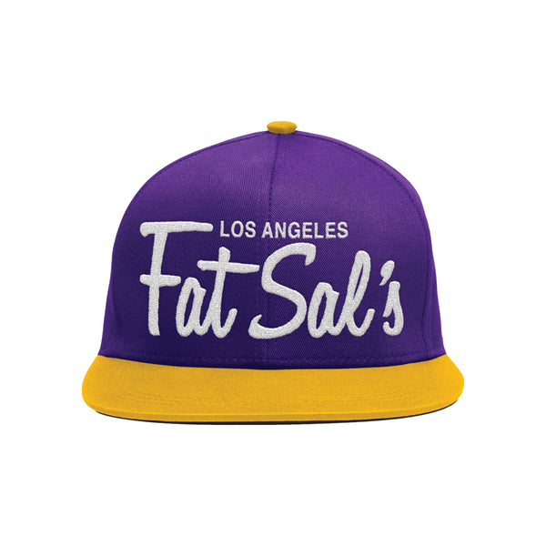 Los Angeles Fat Sal's Purple/Yellow/White