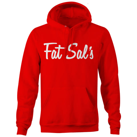 FAT SAL'S EST. HOODIE RED/WHT