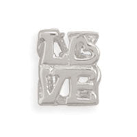 "Cut Out ""Love"" Bead"
