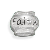 """Faith"" Bead"