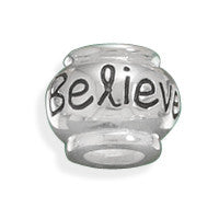 """Believe"" Bead"