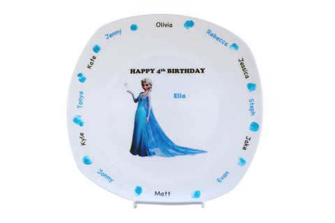 Personalized Themed Decorative Party Plate Keepsake
