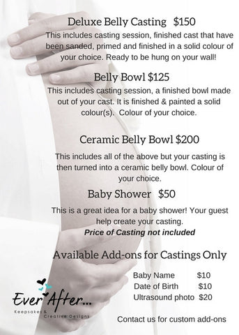 Belly Casting & Belly Bowls