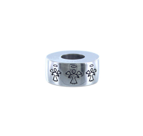 Angels Silver Cremation Bead