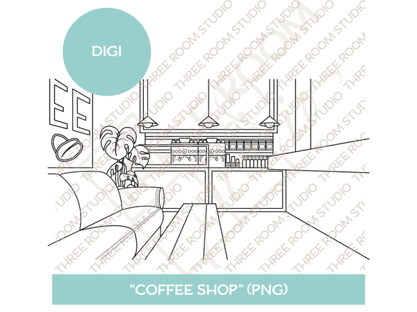 "Digi - ""Coffee Shop"" Background"