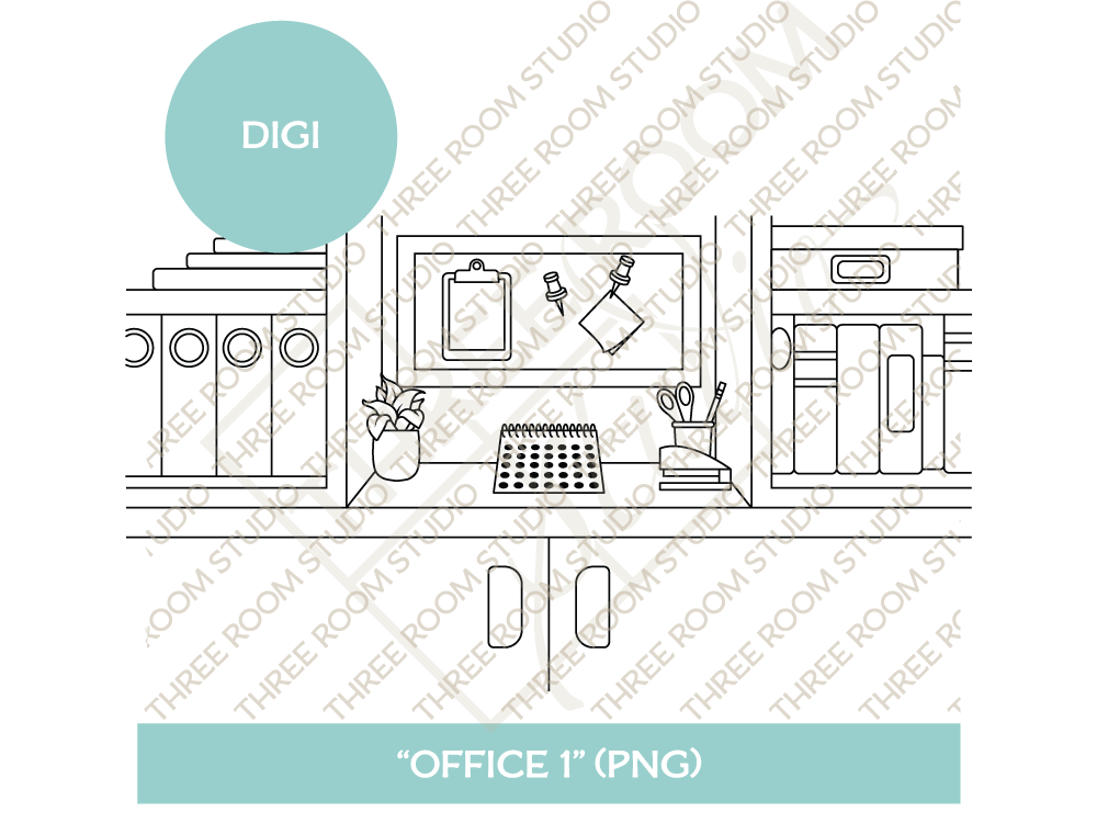 "Digi - ""Office 1"" Background"