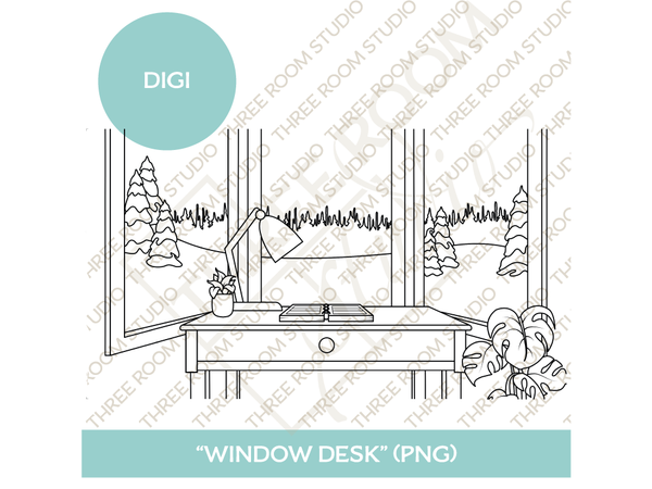 "Digi - ""Window Desk"" Background"