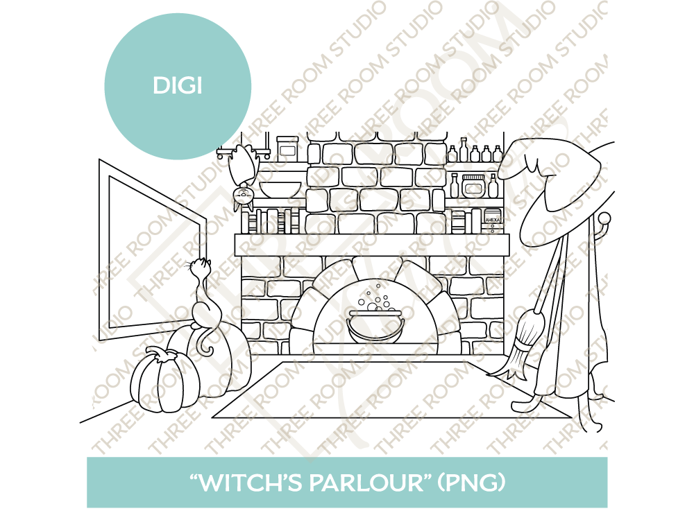 "Digi - ""Witch's Parlour"" Background"