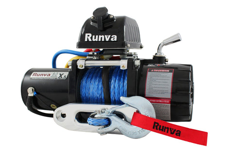 8.0XS Rock Crawl Winch by Runva - All Winches - Runva