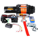 4500lbs Electric Winch ATV 4WD Synthetic Rope w/ Remote FREE SHIPPING!! - All Winches - Giantz - 8