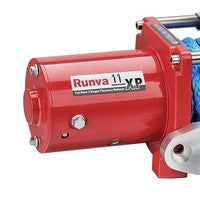 front view of a 11xp red motor by runva