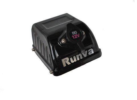 Runva Solenoid Cover with Plug and dust cap