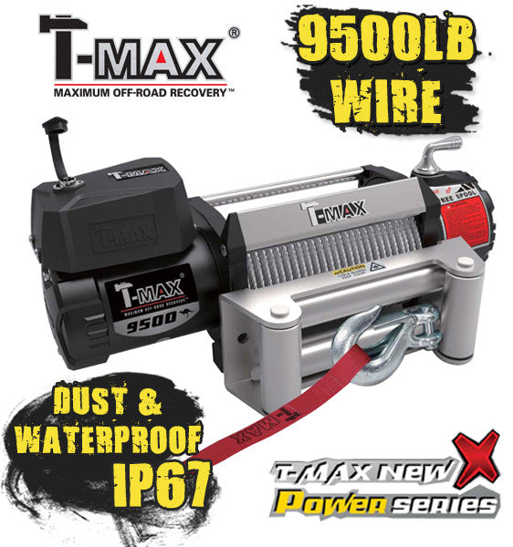 TMAEW9500 Dust & Water proof - All Winches - T-Max - 1