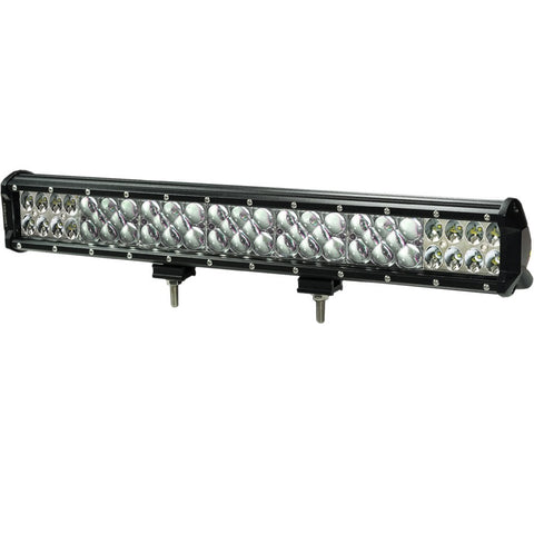 front view of 20inch 392W LED Light Bar