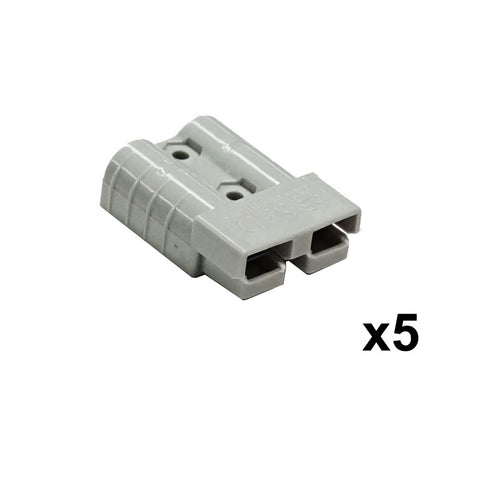 5X Premium Anderson Style Plug 50AMP Exterior Connector DC Power
