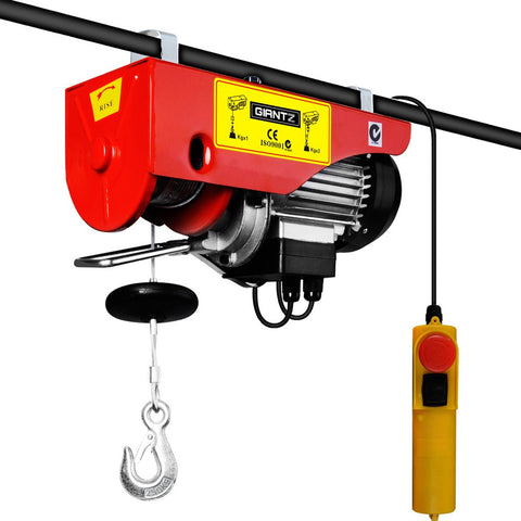 Giantz 510W Electric Hoist Winch EH-15M-PA250A
