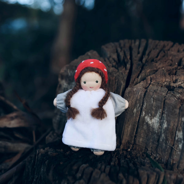 toadstool doll - willow
