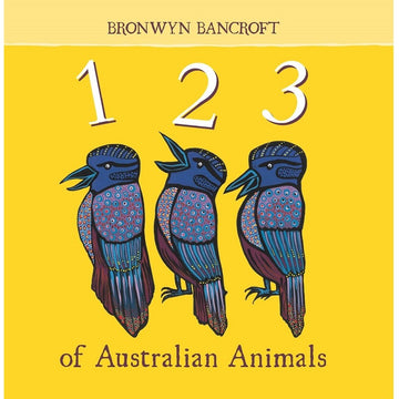 123 of australian animals - board book