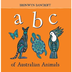 abc of australian animals - board book