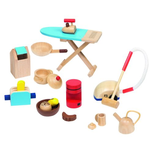 doll house accessories; household