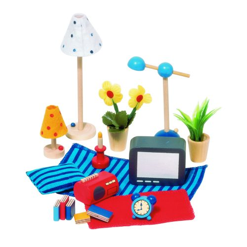 doll house accessories; leisure