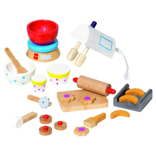 doll house accessories; baking
