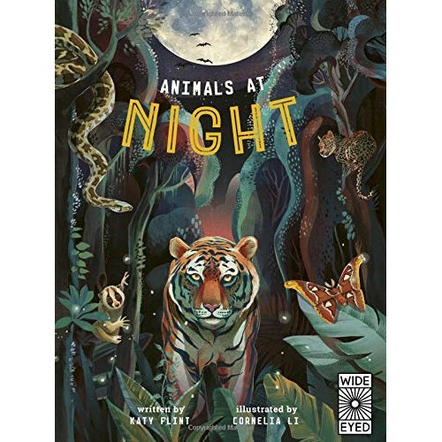 animals at night; glow in the dark