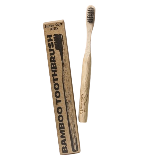 bamboo toothbrush - child's