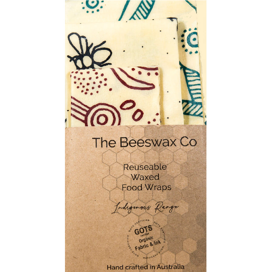 beeswax wraps - set of three