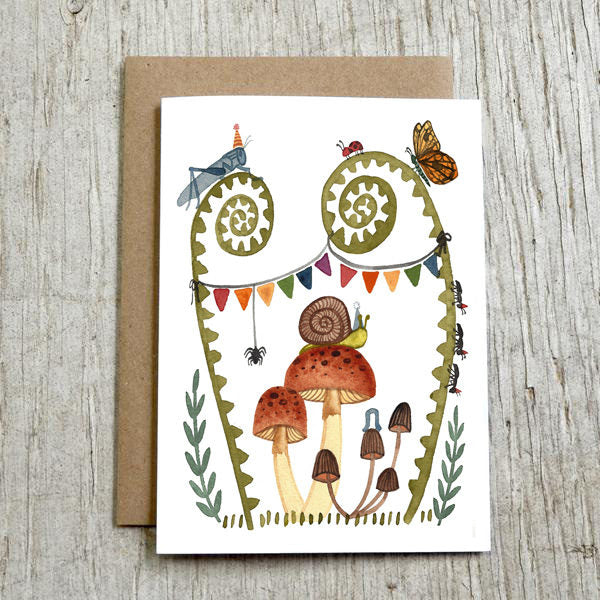 'bug birthday' greeting card
