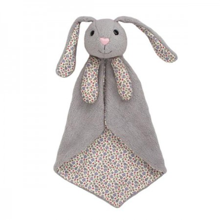 rabbit floral blanket