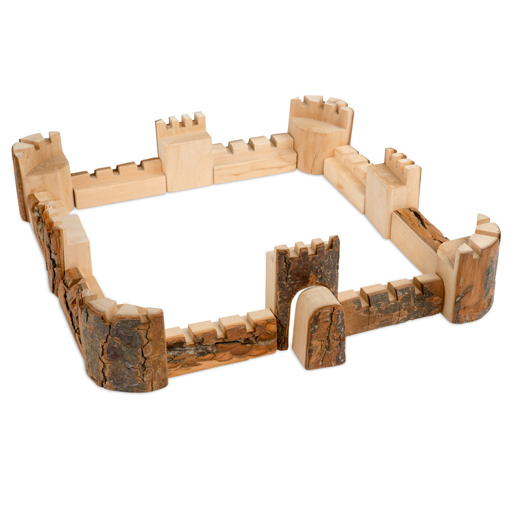 branch-wood castle blocks