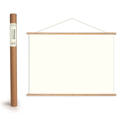 horizontal poster hanging kit