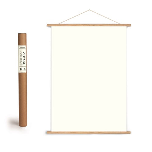 vertical poster hanging kit