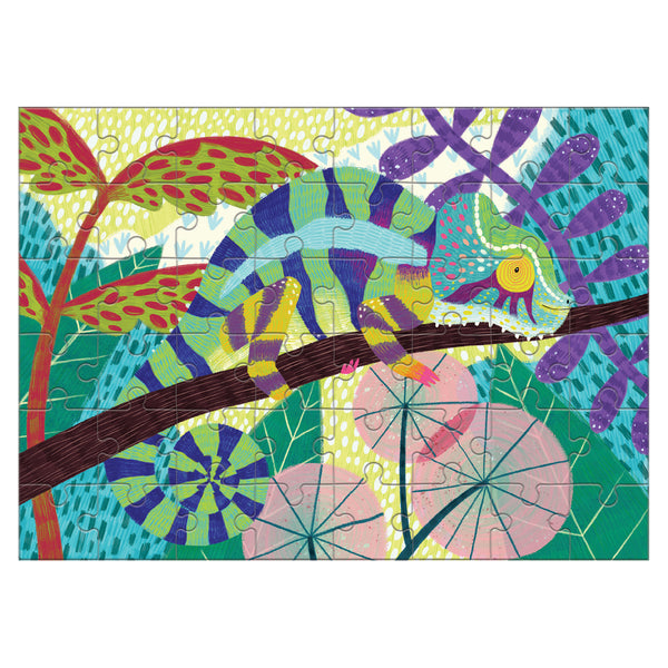 chameleon mini puzzle - 48 piece