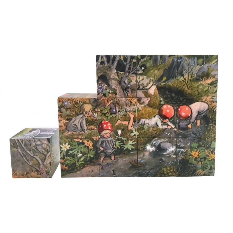'the children of the forest' cube puzzle