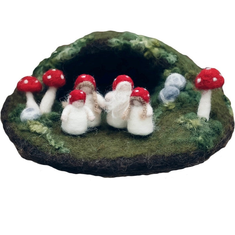 'children of the forest' felted play set