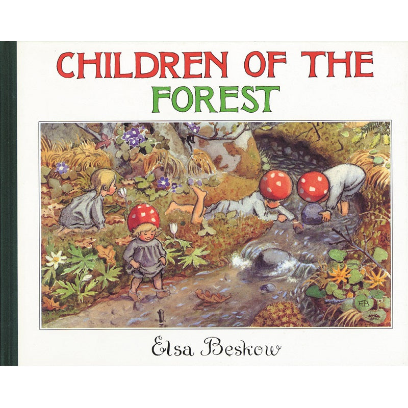 elsa beskow gift collection; children of the forest