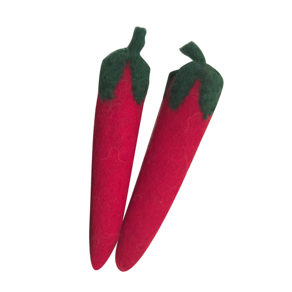chilies - set of 2