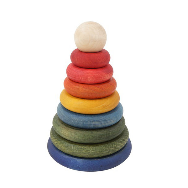 round coloured stacker