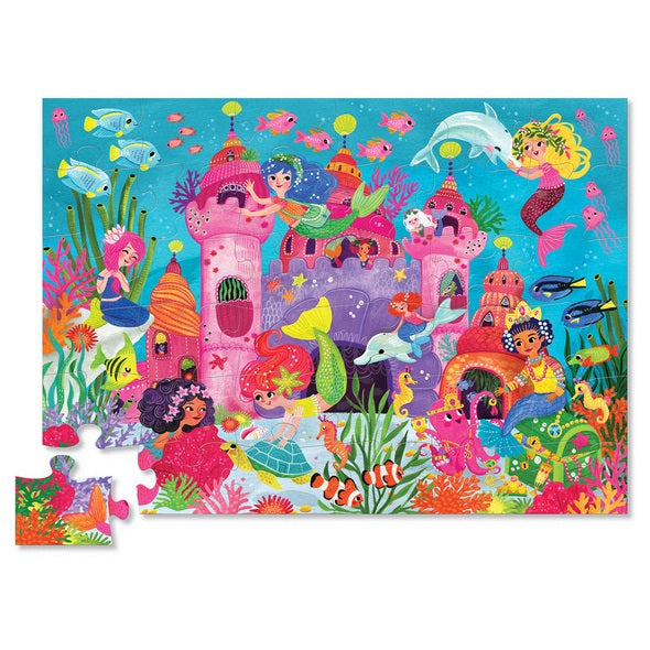 mermaid palace puzzle - 36 piece